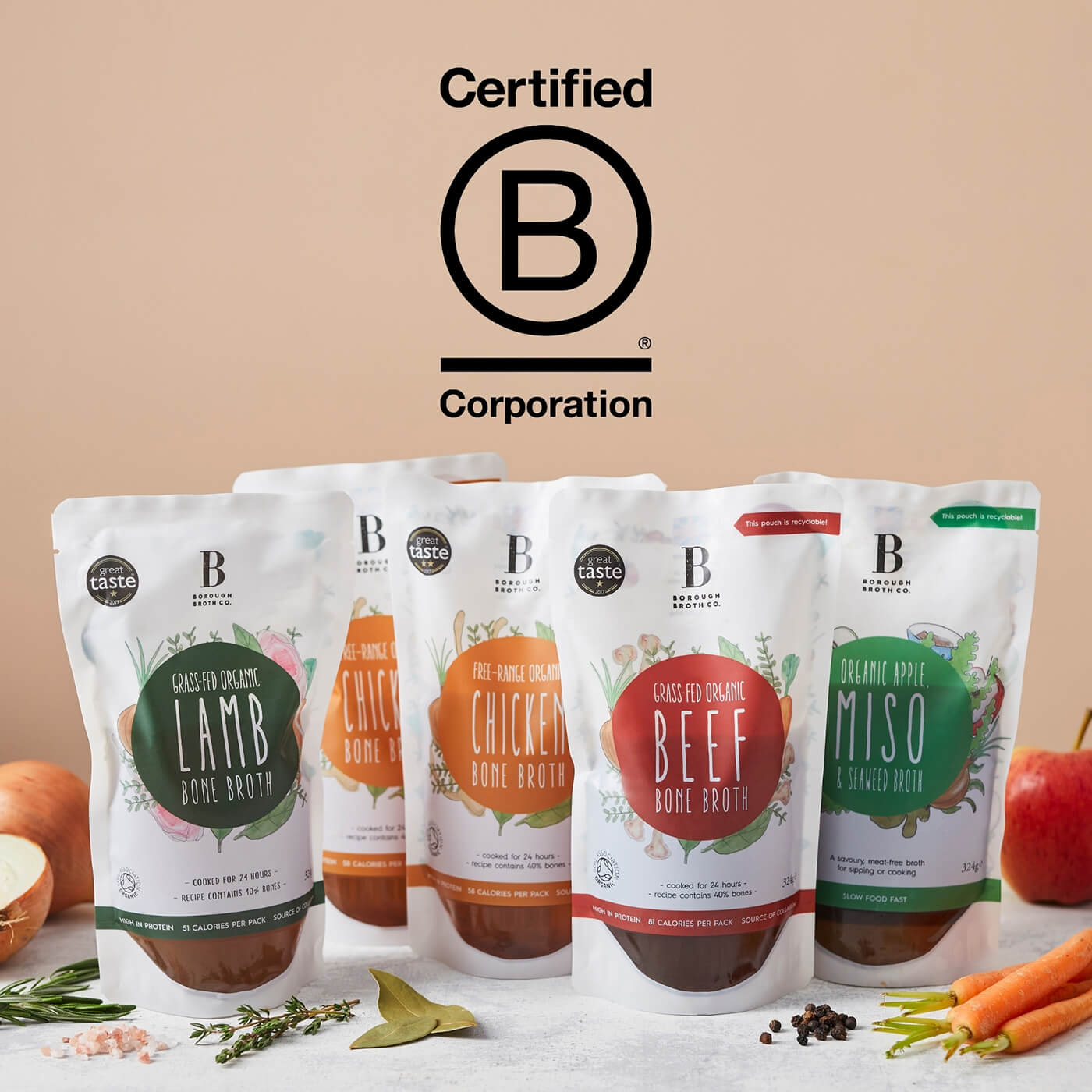 We're a B-Corp!